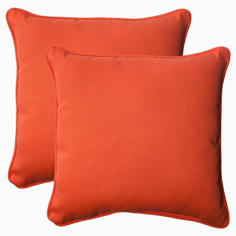 Orange Throw Pillows For Sofa : orange couch: April 2014