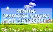 Segmen Pencarian Bloglist Feb - Mac 2015