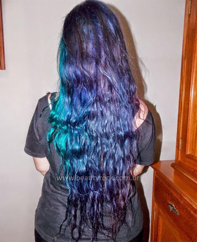 Como pintar os cabelos com anilina para madeira.