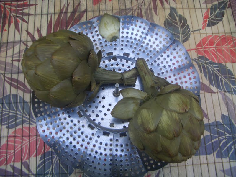 how to cook an artichoke without a steamer