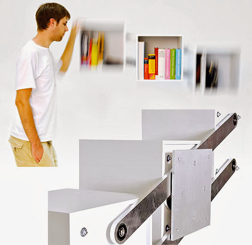 Innovative Bookshelves and Coolest Bookcases (15) 9