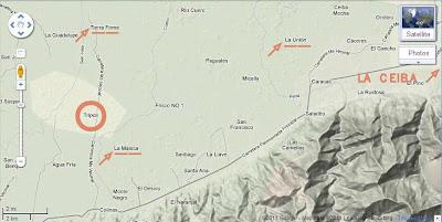 Map, Tripoli, Honduras