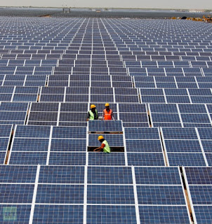 Worlds Largest Solar Farm in India