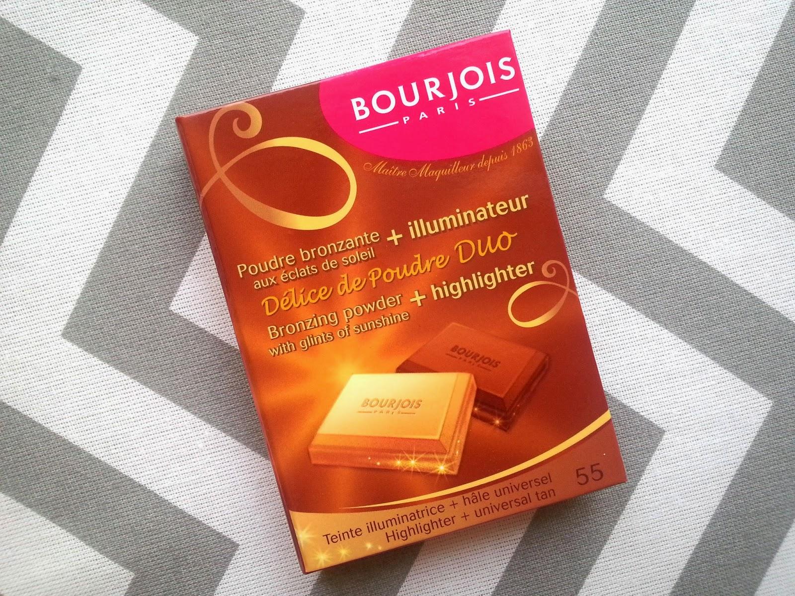 Bourjois Bronzing Powder & Highlighter Duo Review Swatches