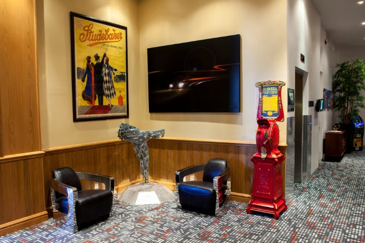 Retro Suites, Chatham Ontario, hotel, inn, tourist attraction, lobby