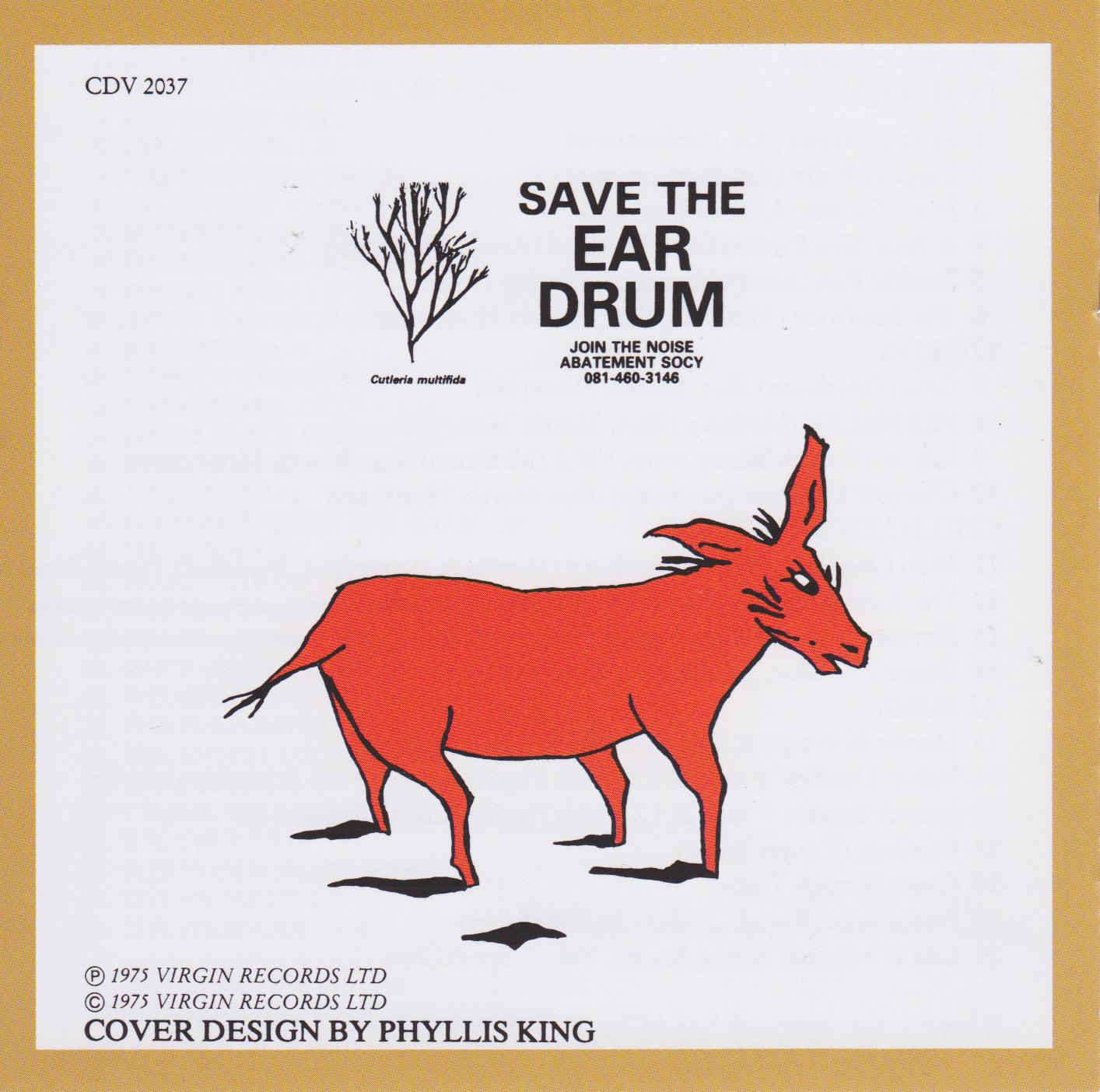 Ivor Cutler Velvet Donkey
