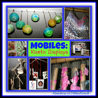 photo of: Mobiles as Kinetic Art and Displays in Early Childhood, Natural Elements as Mobiles