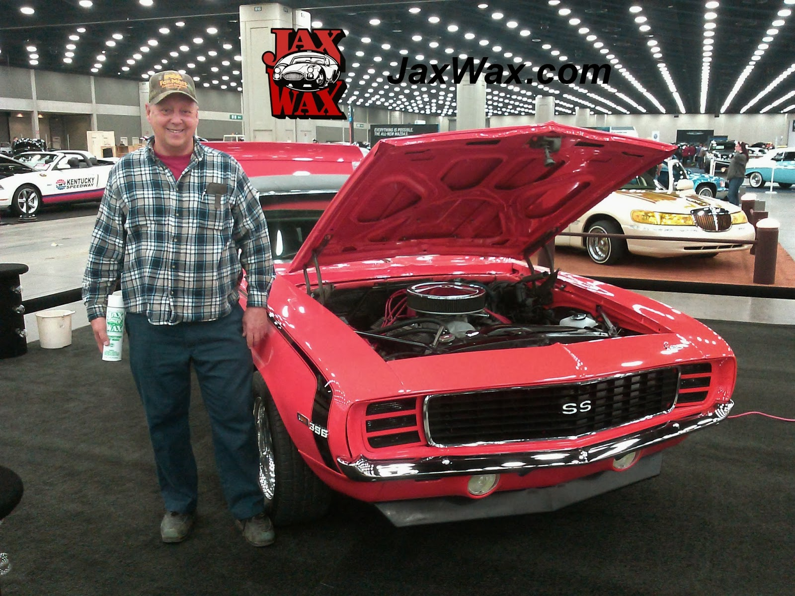 1969 Chevy Camaro SS Carl Casper Auto Show Jax Wax Customer