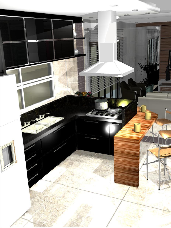 Cozinha Planejada Moderna Pequena Projeto Cozinha Planejada Projeto