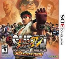 Super Street fighter IV 3D   Nintendo 3DS