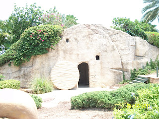 Here is the garden tomb you can go inside and see it is empty
