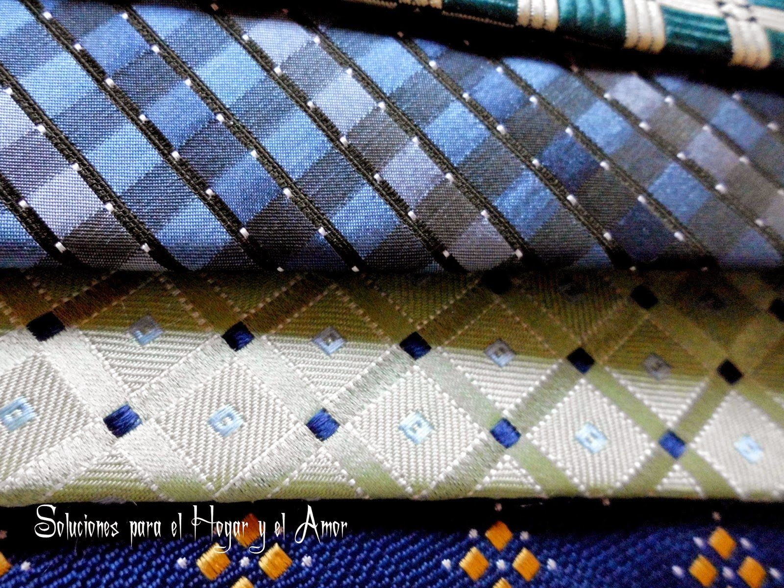 Corbatas, finas corbatas de seda, diseños