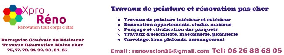 peintre en bâtiment paris | 06 26 88 68 05 | entreprise peintre en bâtiment paris