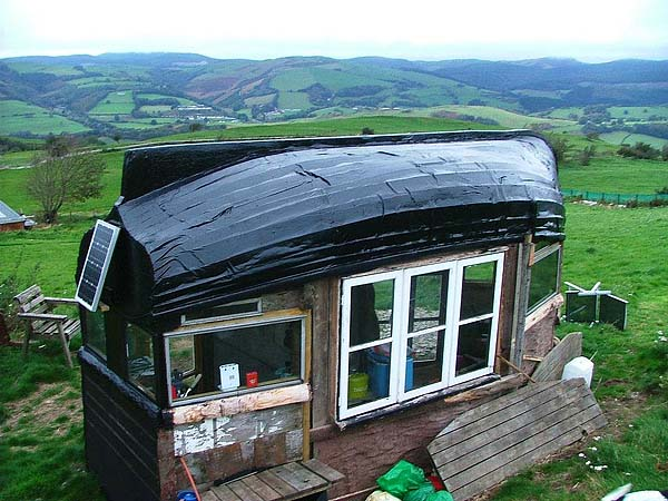 Lloyd S Blog Boat Roofed Shed In Wales