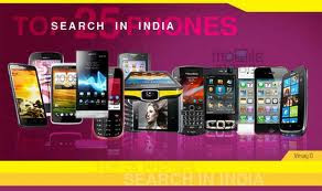 Top 20 most Searched Mobile Phones in India