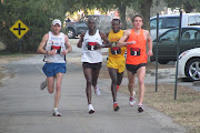 Gulf Winds Track Club's 39th annual Tallahassee Marathon was the largest yet . (marathon leaders)