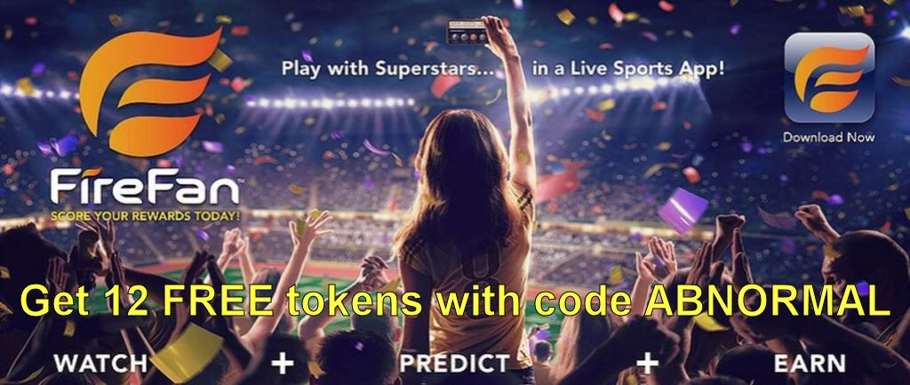 Join FireFan today with Code: ABNORMAL