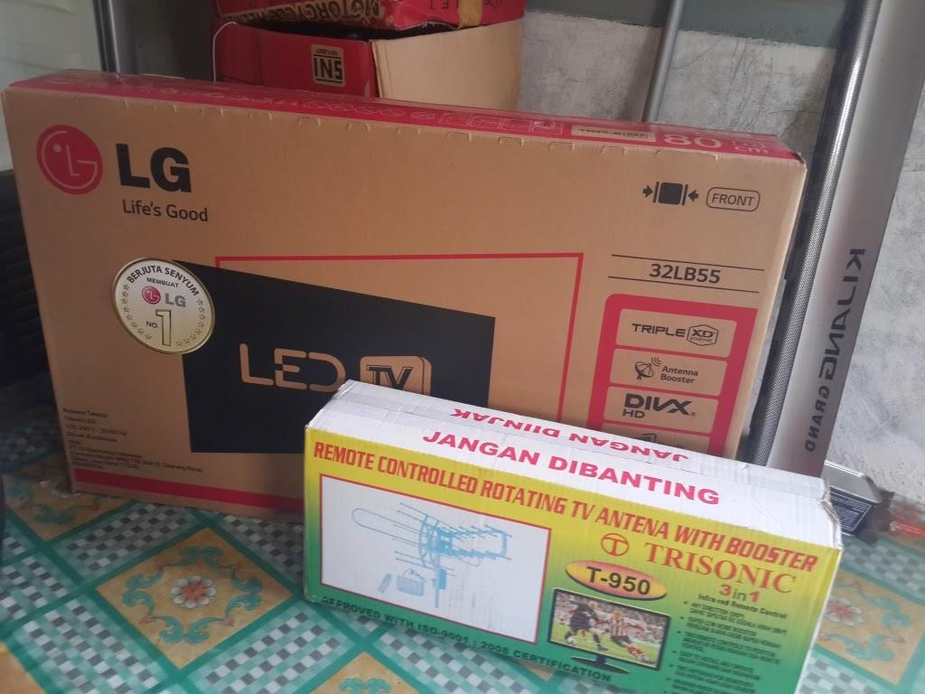 LG LED TV 32 Inch Type 32LB55 Baru NEW Amp Bergaransi