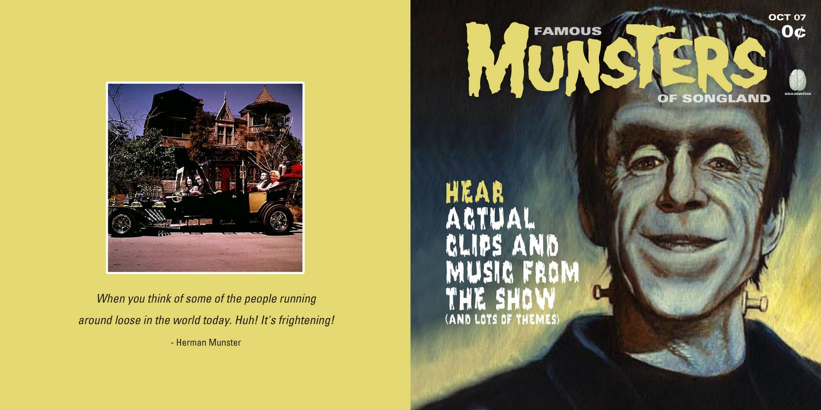 Famous Munsters of Filmland. I've included the artwork for the CD version ...