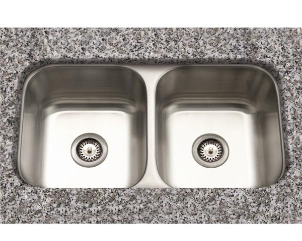 Stainless Steel Sink Vs Porcelain : Stainless steel undermount sinks