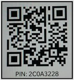 PIN BBM: 2BAAF273