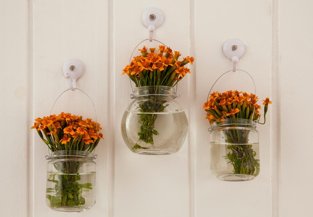 Decorar& Brincar ! 10 ideias para usar vidros de conserva na decoraç u00e3o -> Decoração De Vidros De Conserva Com Eva