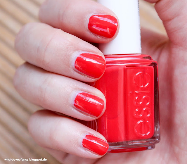 "Essie ""too too hot"""