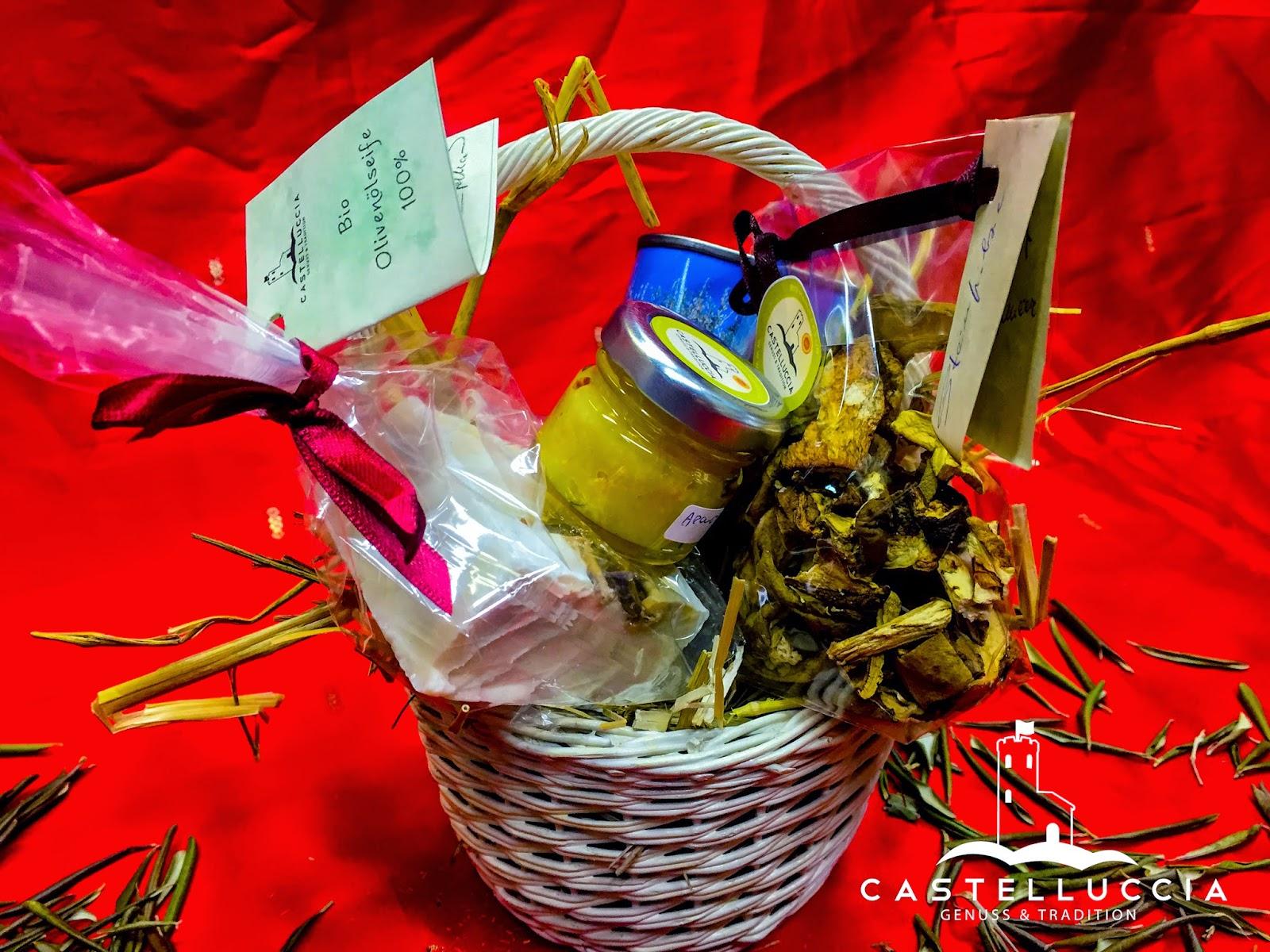 Unsere Geschenkkörbe zu Weihnachten | Castelluccia