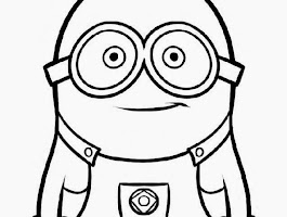 Despicable Me Characters Coloring Pages