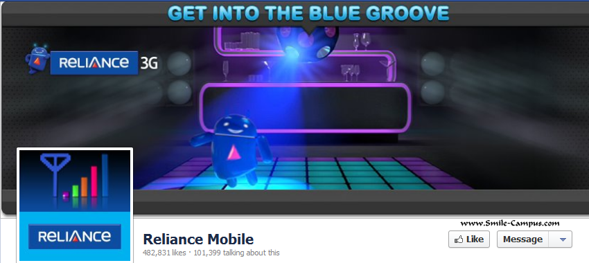 Reliance Mobile on Facebook