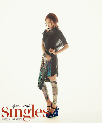 NS Yoon G - Singles Magazine October Issue 2013