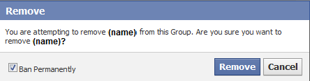 how to delete members from a group on facebook