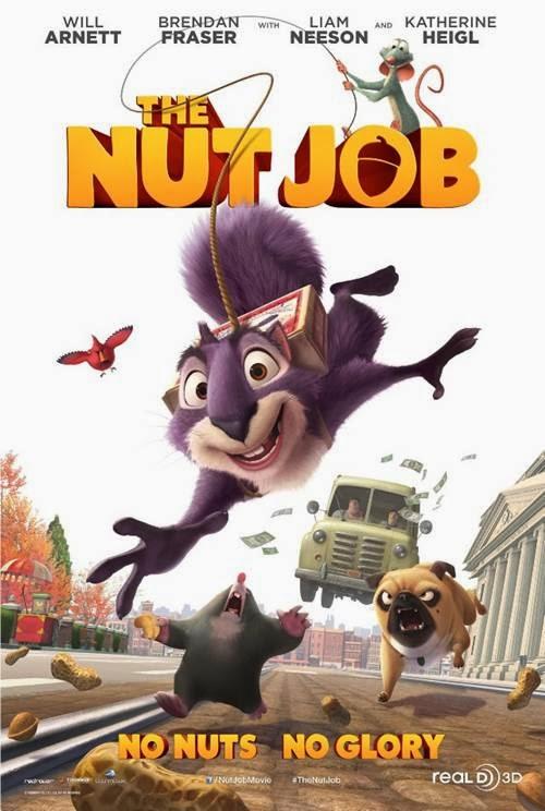 The Nut Job starring voices of Will Arnett, Brendan Fraser