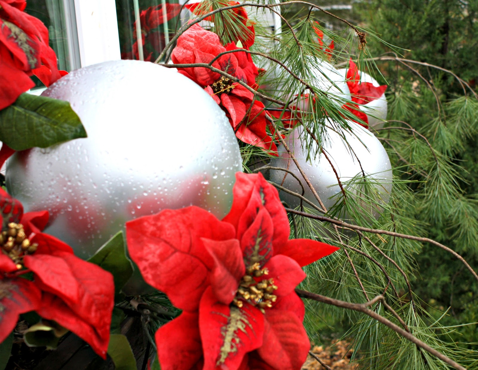 christmas window boxes - Window Box Decorations Christmas Outdoor
