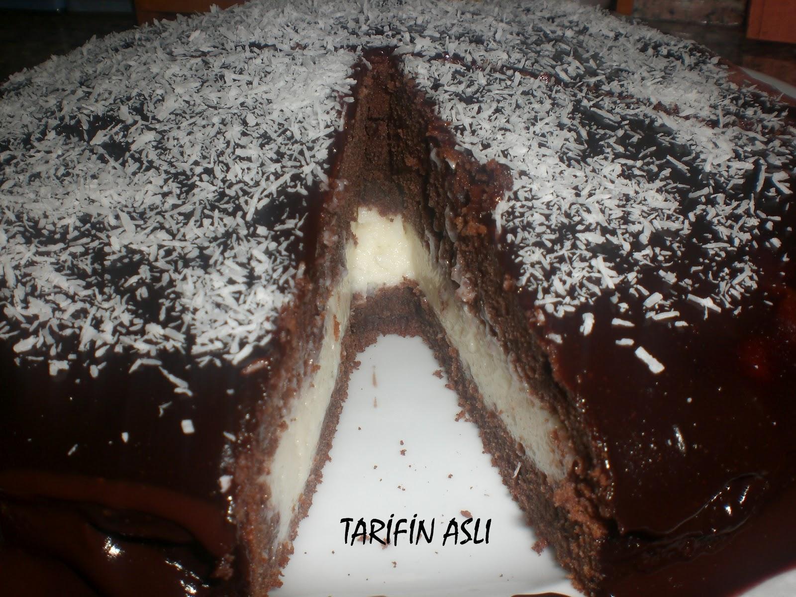 Sürpriz Kek Tarifi