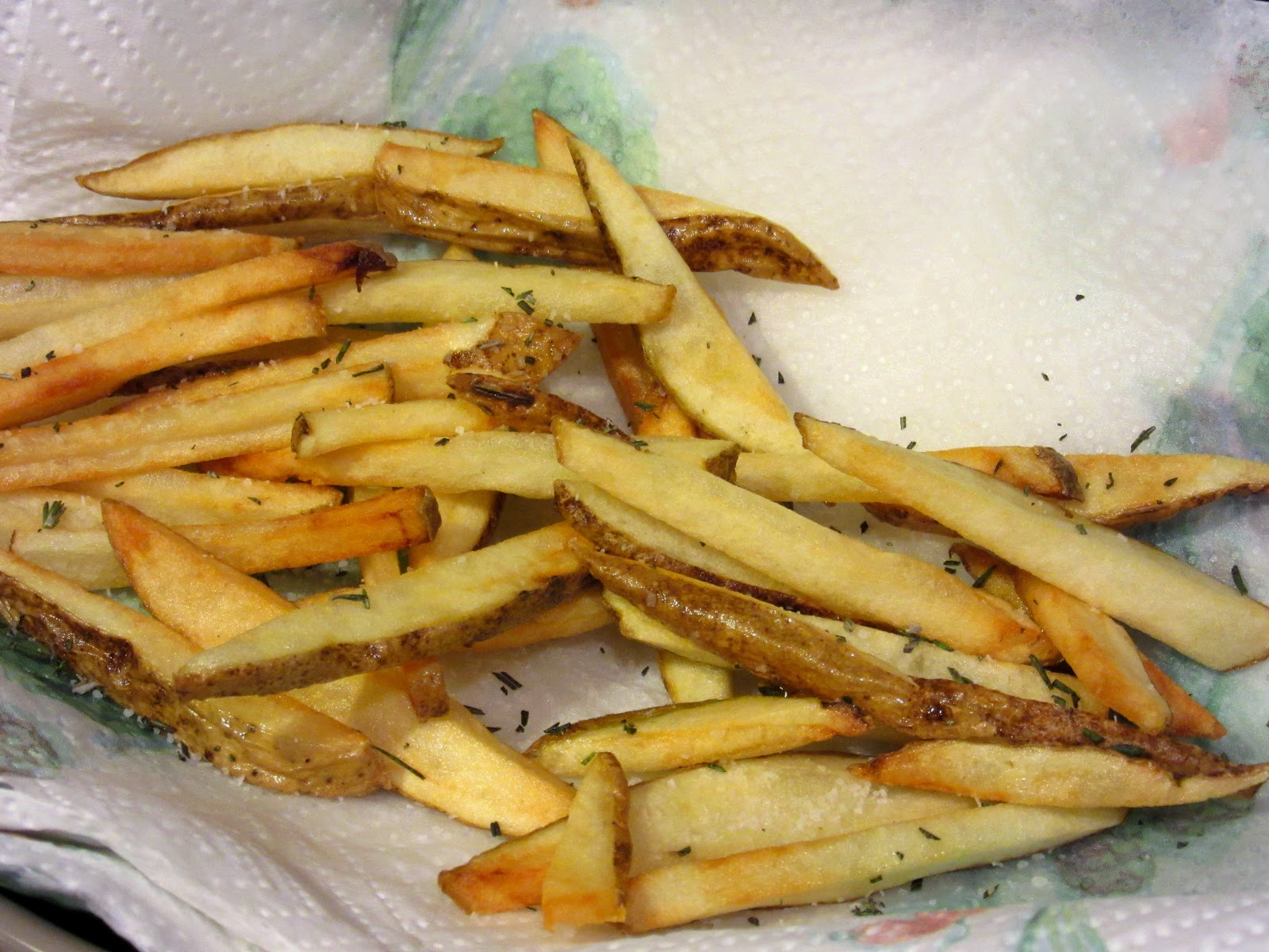 How to make homemade rosemary french fries - Kudos Kitchen by Renee