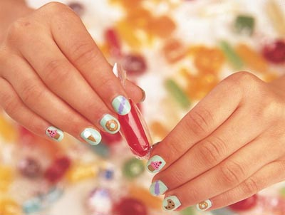 January 2012 Nail Art Design