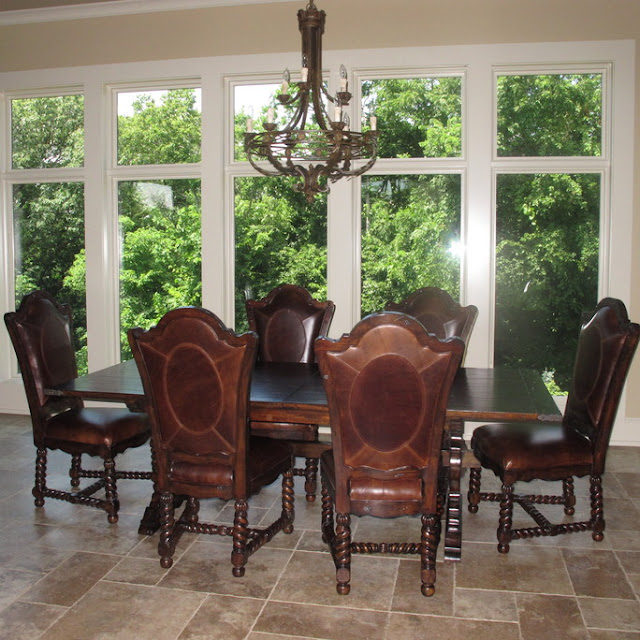 Projects Plenty: Working On The Kitchen Dining Area: Kitchen Dining End  Chairs