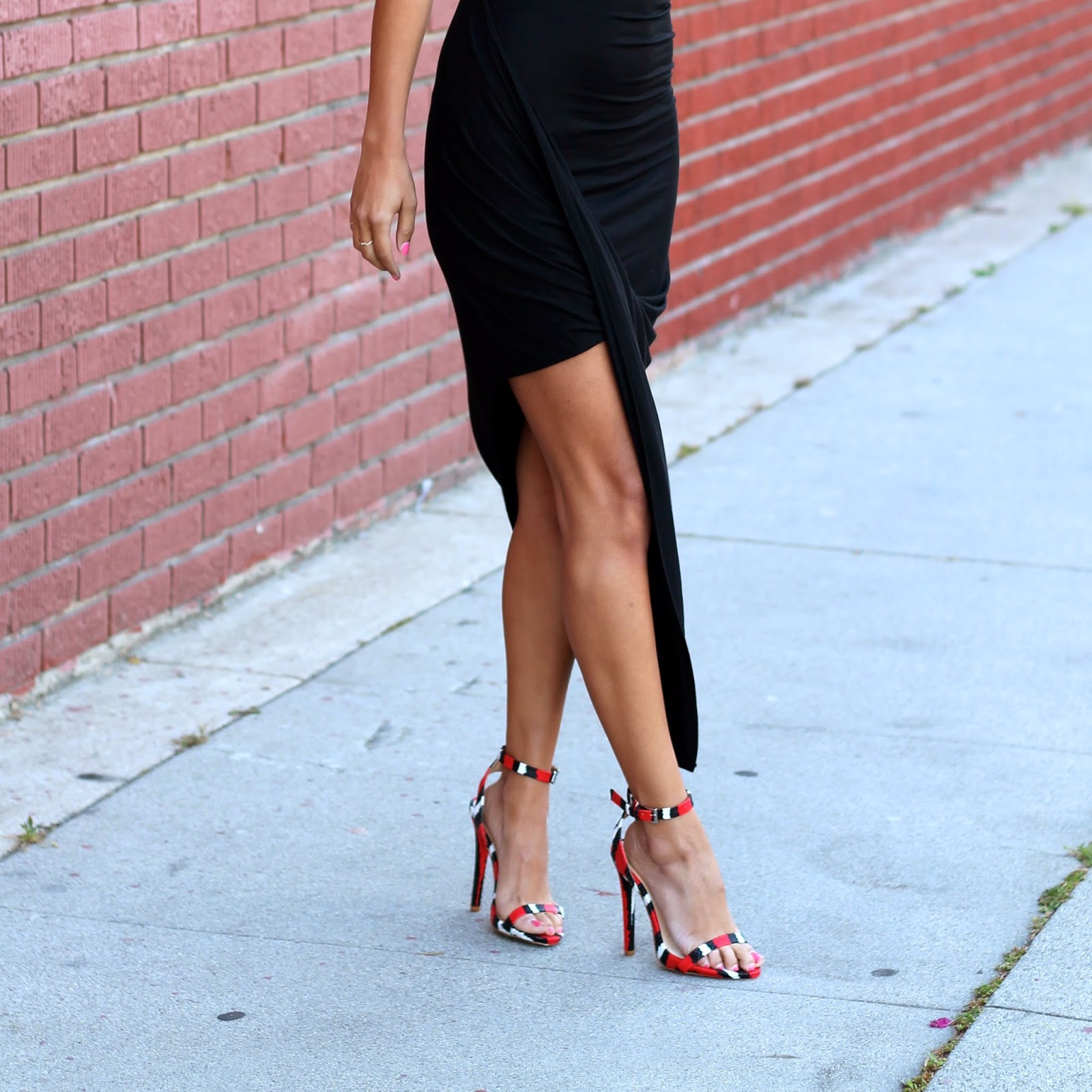 justfab dress, how to style LBD, LBD for date night, LBD outfit