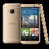 Gouden uitvoering van HTC One M9