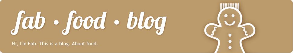 fab · food · blog