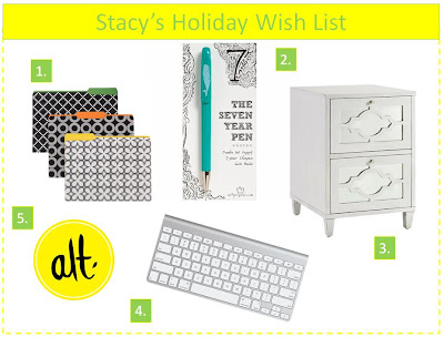 holiday wish list creative