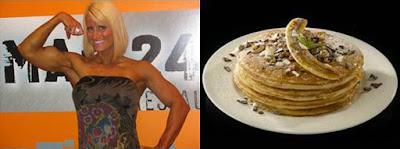 Nikki Warner pancake