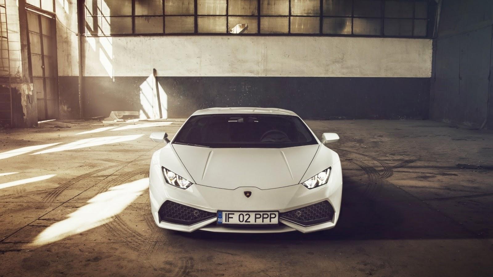 Lamborghini Huracan LP610-4 blanco