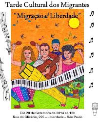 Tarde Cultural dos Migrantes
