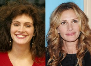 Julia Roberts BEFORE and AFTER Pictures