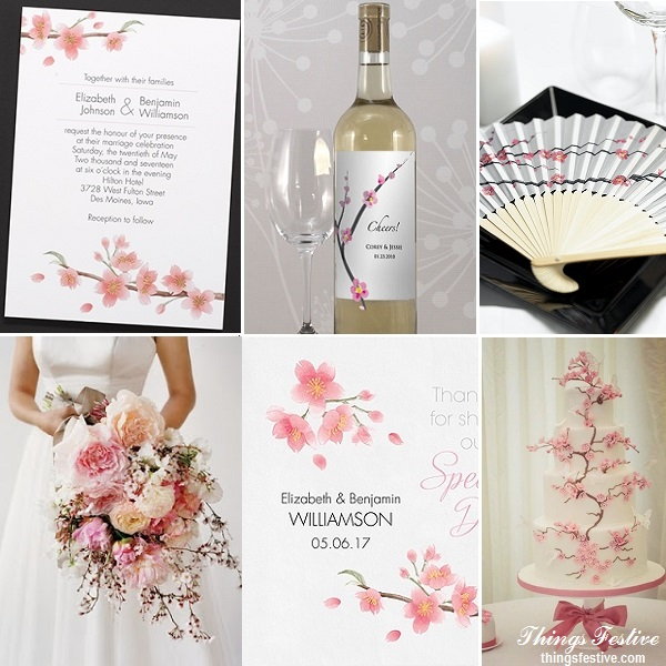 Cherry Blossom Wedding Inspiration | Things Festive Weddings & Events