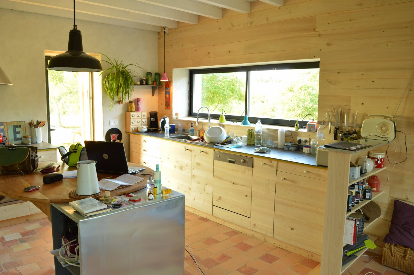la gremiere en travaux youpi une pi ce en plus. Black Bedroom Furniture Sets. Home Design Ideas