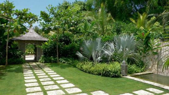 Home landscape design landscaping services bp jb for Tropical house garden design