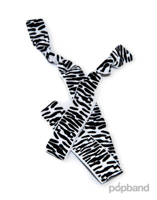 Popband Zebra print